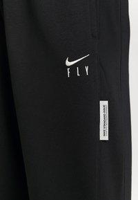 Nike Performance - STANDARD ISSUE PANT - Teplákové kalhoty - black/pale ivory/pale ivory - 6