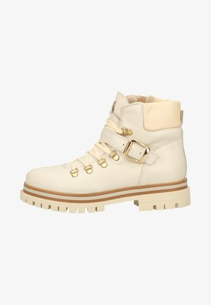 Platform ankle boots - ghiaccio