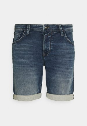 Denim shorts - used mid stone blue denim