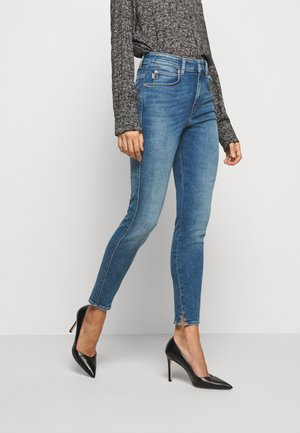 WET - Jeansy Skinny Fit - blau