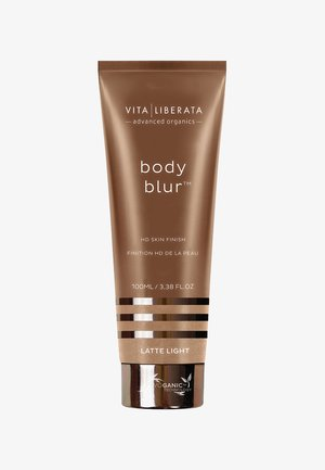 BODY BLUR INSTANT HD SKIN FINISH - Self tan - latte light