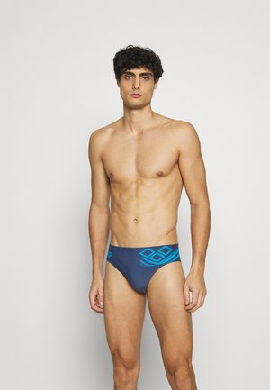 SPIRIT BRIEF - Bañador - shark turquoise