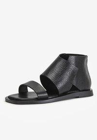 Inuovo - Ankle cuff sandals - mntrl black nbl - 6