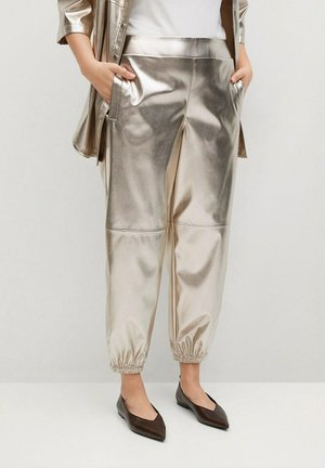 GALACTIC - Pantalones deportivos - zlatá
