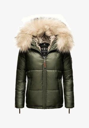 TIKUNAA - Winter jacket - olive