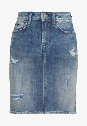 MONROE SKIRT - Jupe en jean - blue