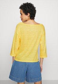 Benetton - Bluzka z długim rękawem - yellow - 2