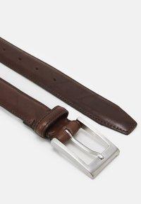 Selected Homme - SLHFILLIP FORMAL BELT - Belt - demitasse - 1
