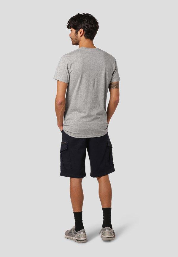 MARCUS TALLO - T-shirt z nadrukiem - grey mix/szary Odzież Męska DQXP