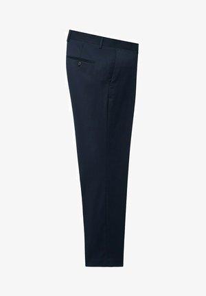 JANEIRO - Pantaloni eleganti - dunkles marineblau