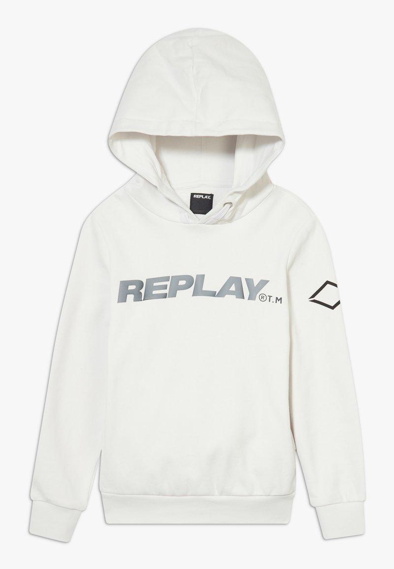 Replay - Hoodie - white