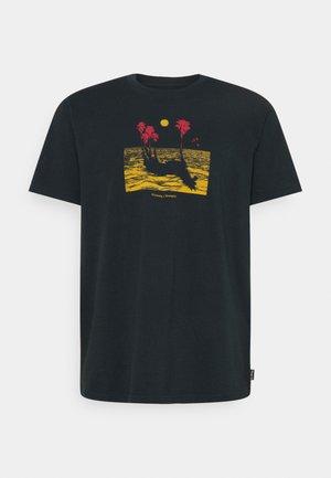 MIRAGE - Print T-shirt - indigo