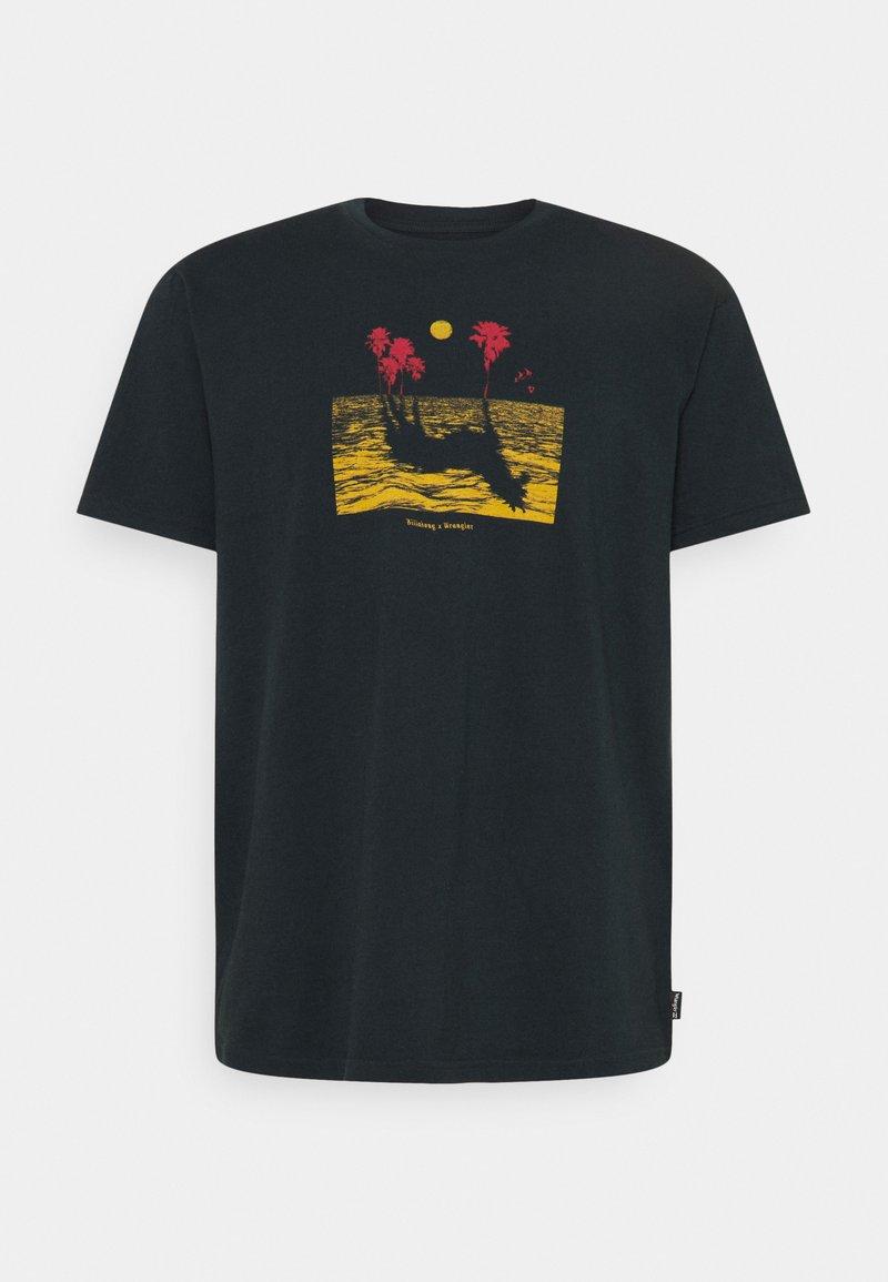 Billabong - MIRAGE - Print T-shirt - indigo