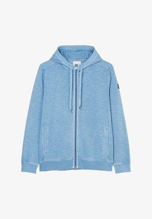 Zip-up hoodie - kashmir blue