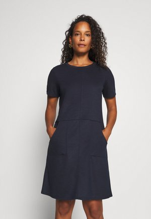 DRESS WITH POCKET - Denní šaty - sky captain blue