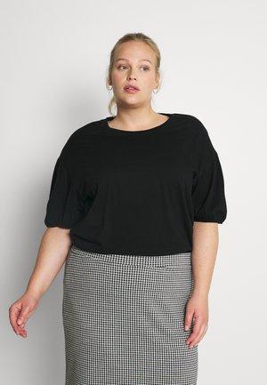 SLFMIV TEE - T-shirt basic - black