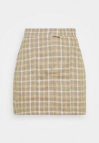 CHANCE SKIRT - Mini skirt - beige