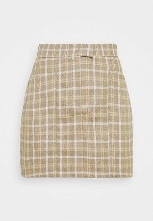 CHANCE SKIRT - Mini skirt - beige