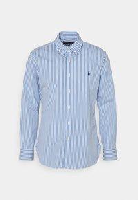Polo Ralph Lauren - CUSTOM FIT STRIPED POPLIN SHIRT - Shirt - sky blue/white - 0