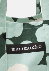 Marimekko - PERUSKASSI PIENI - Shoppingveske - dark green/green/off white - 3