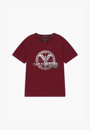 UNISEX - T-shirt imprimé - bordeaux