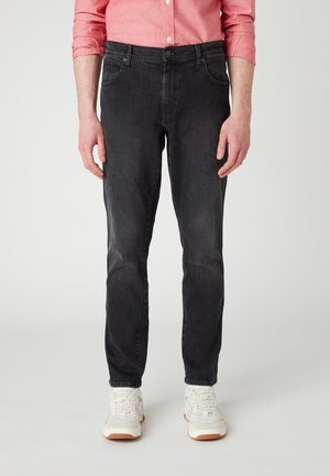 TEXAS  - Slim fit jeans - black