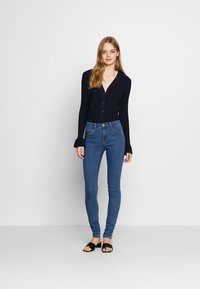 ONLY - ONLRAIN  - Jeans Skinny Fit - dark blue denim - 1