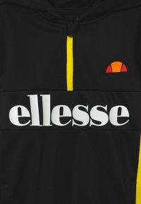 Ellesse - BOJON HALFZIP HOODY - Kapuzenpullover - black - 3