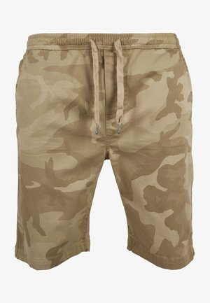 CAMO JOGGSHORTS - Shorts - sand camo