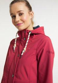 Schmuddelwedda - Soft shell jacket - rot - 3