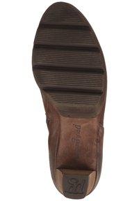Paul Green - STIEFELETTE - High heeled ankle boots - dunkelbraun - 6