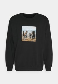 Mennace - TROOP  - Sweatshirt - black - 4