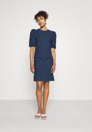 BYKARISSA DRESS  - Denim dress - mid blue denim