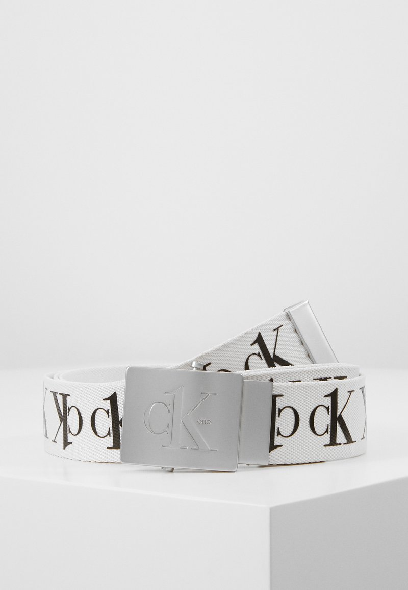 Calvin Klein Jeans - BELT TAPE - Vyö - white
