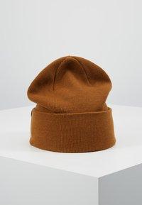 Weekday - ICON BEANIE - Bonnet - brown reddish - 2