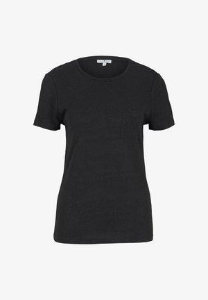 Basic T-shirt - deep black