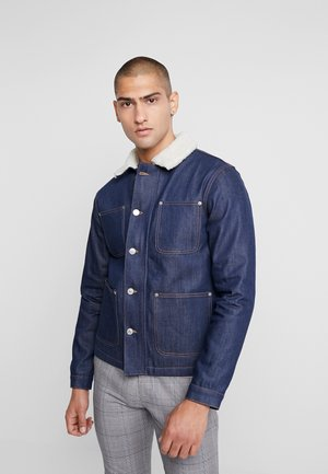 JJIHANK JJJACKET - Džínová bunda - blue denim