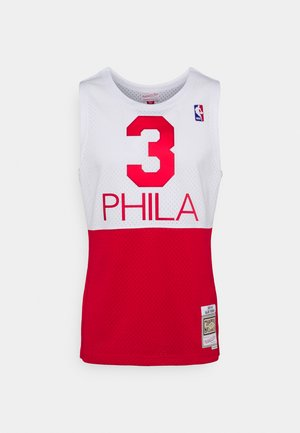 NBA PHILADELPHIA 76ERS 2003-2004 SWINGMAN - Equipación de clubes - white/red