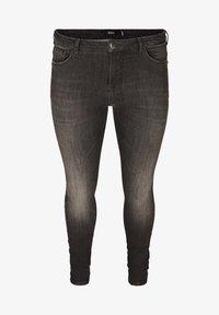 Zizzi - Slim fit jeans - grey - 2