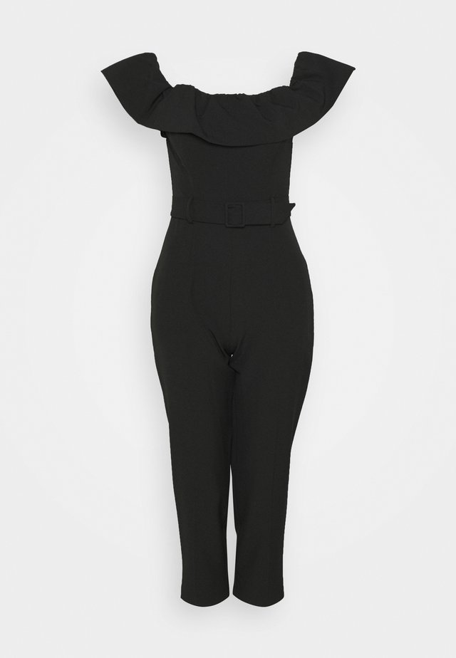 BARDOT JUMPSUIT - Jumpsuit - black