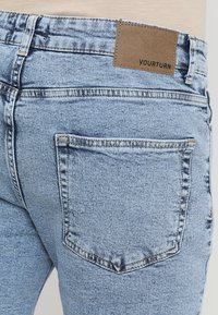 YOURTURN - Denim shorts - moon washed - 3