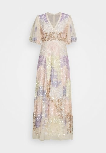 ELIZA SEQUIN ANKLE LENGTH GOWN - Occasion wear - champagne