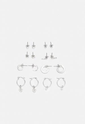 EARRINGS 8 PACK - Earrings - silver-coloured