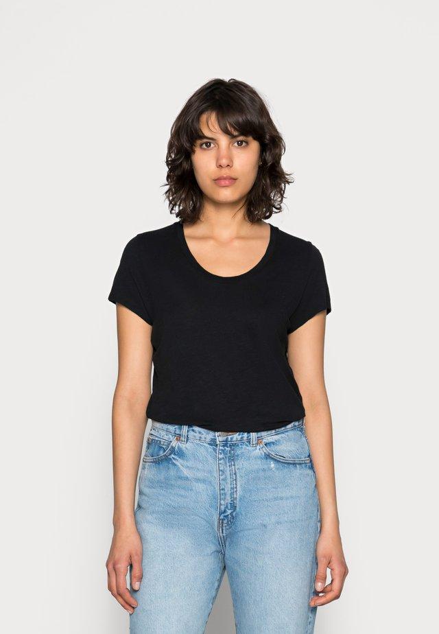 JACKSONVILLE ROUND NECK - T-shirt basique - noir