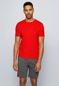 """BOSS - """"TEE CURVED"""" - Basic T-shirt - red - 0"""