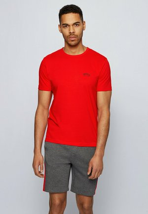 """""""TEE CURVED"""" - Basic T-shirt - red"""