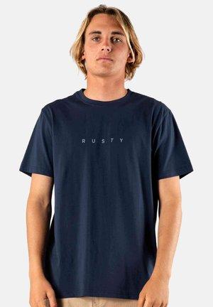 SHORT SLEEVE - Basic T-shirt - dark sapphire