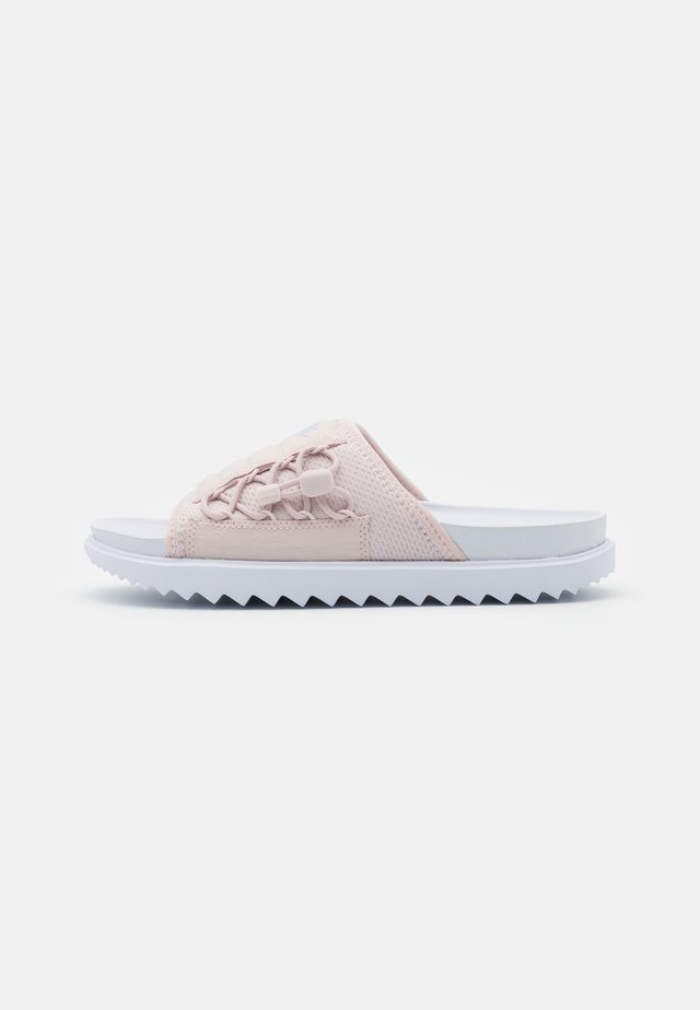 CITY SLIDE - Matalakantaiset pistokkaat - white/ghost/barely rose