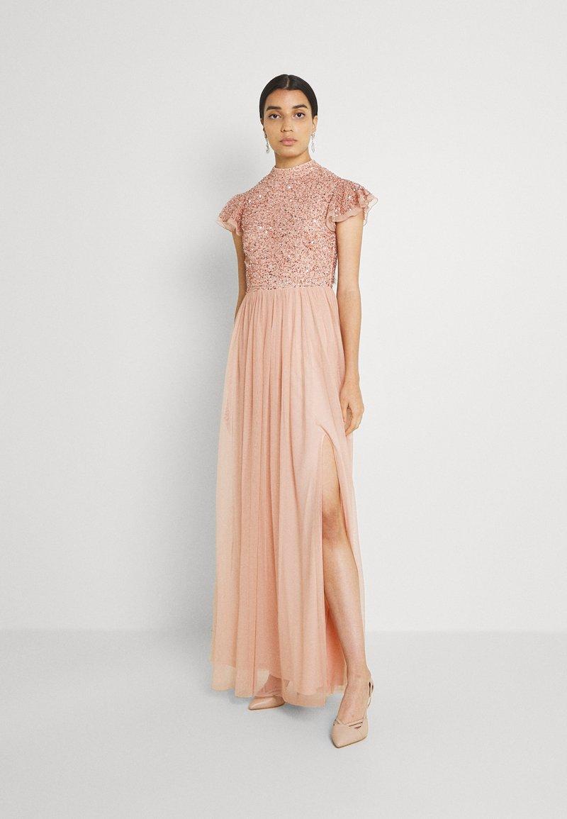 Lace & Beads - MAJA MAXI - Iltapuku - light pink