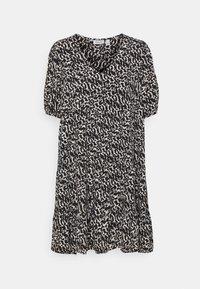 HANNA - Denní šaty - black/birch